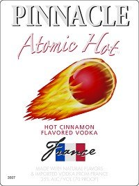 Pinnacle Vodka Atomic Hots 1 Liter