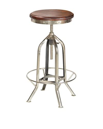 CDI Furniture Tabouret Stool, Nickel Finish