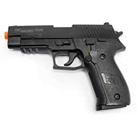 Sig Sauer P226 Spring Pistol Metal Version airsoft gun