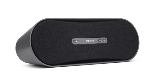 Creative D100 Wireless Bluetooth Speaker System (Black) for iPhone and Android and MP3 Players with Bluetooth