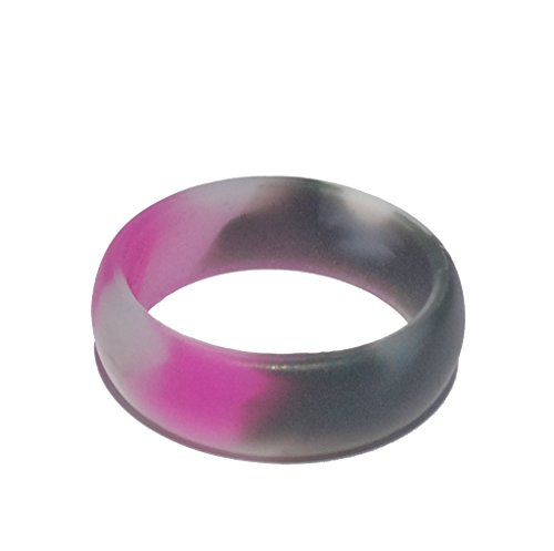 Tough Love Rings - CAMO PINK - Thin Band - Size 7 (Women Army Uniforms)