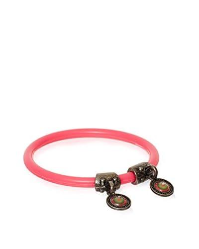 Desigual Pulsera Plástic Pink