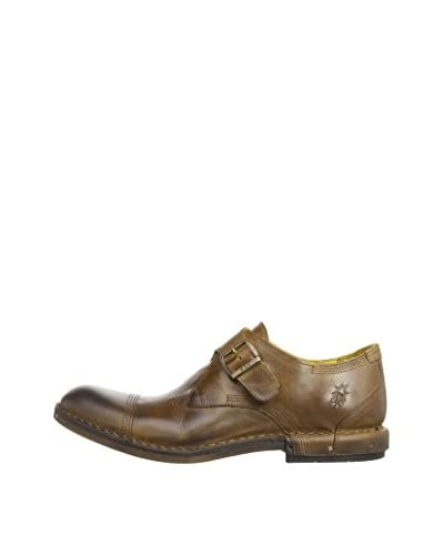 Fly London Zapatos Monkstrap Have Negro