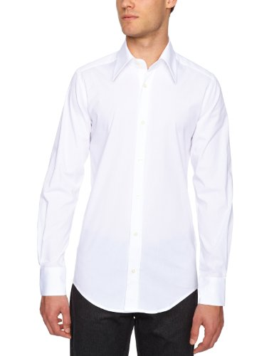 D & G Slim Fit Shirt White 15.75 R