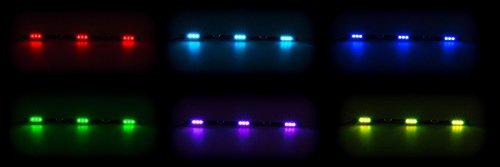 LED-Innenleuchte-flache-Bauweise-3-x-3-SMD-LED-7-Farben-geschaltet-10-30V