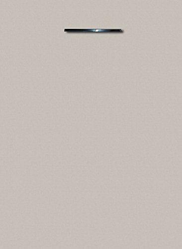 Küchenschrank Unterschrank Front für Geschirrspüler FE (Breite 45cm-vollintegriert, 03 Leinen grau)