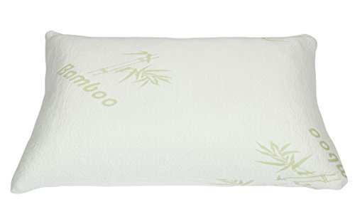 comfilife premium bamboo pillow with shredded memory foam hotel comfort with stay cool technology