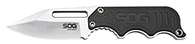 SOG Specialty Knives & Tools Instinct Compact Fixed Blade Knife, 2.3-inch Blade