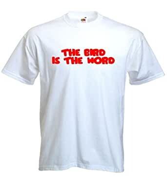 The Bird is the Word t-shirt - White
