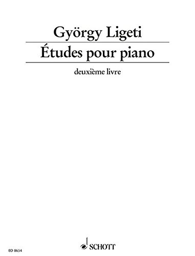 ETUDES-POUR-PIANO-VOLUME-2-By-Gyorgy-Ligeti-Excellent-Condition
