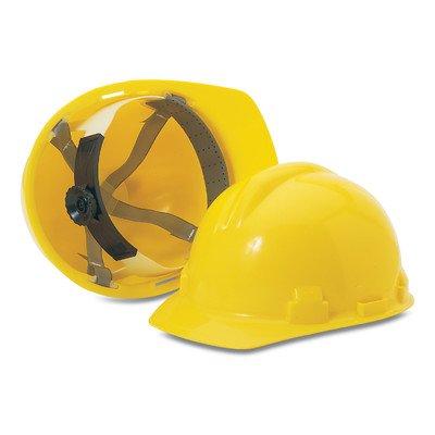 Honeywell RWS-52001 Hard Hat with Pin Lock Adjustment, Ansi Type 1, Yellow (Hard Hat Honeywell compare prices)