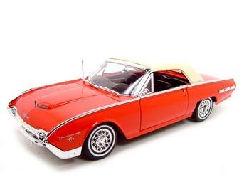 Buy 1962 Ford Thunderbird Ht Red 1:18 Diecast Model