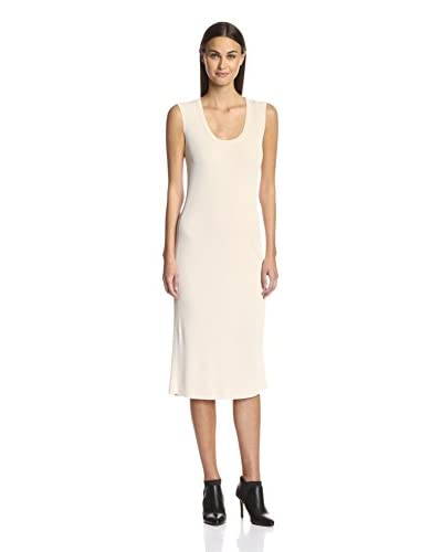 Magaschoni Women's Long Ribbed Dress