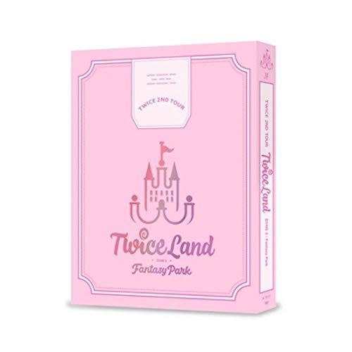 DVD : Twice 2nd Tour Twiceland Zone 2: Fantasy Park (3 Discos)