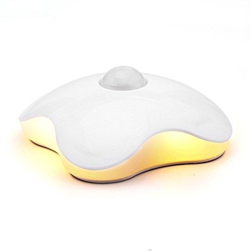 led licht nachtlicht aufklebbarer innenraum bewegungsmelder nachtlicht mit eingebautem 500ma. Black Bedroom Furniture Sets. Home Design Ideas