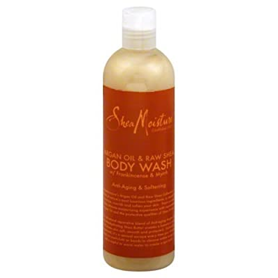 SheaMoisture Argan Oil & Raw Shea Body Wash - 13 oz