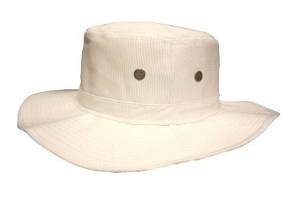 New Mens Classic Summer Wide Brimmed Cotton Cricket Summer Sun Fashion hat