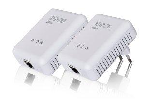 Schwaiger av200m 011Adaptateur réseau Powerline KIT 2émetteur avec 2Câble...