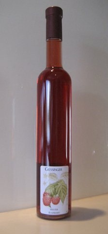 Giessinger Winter Raspberry Dessert Wine, Cognac Style 375 Ml
