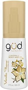 Gud Vanilla Flame Natural Body Mist 3 Fluid Ounce