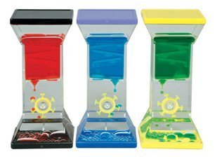 Single Wheel Drop Liquid Motion Desk Toy - 1