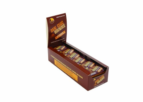 Pulsin 50g Raw Chocolate Brownie Case - Pack of 18