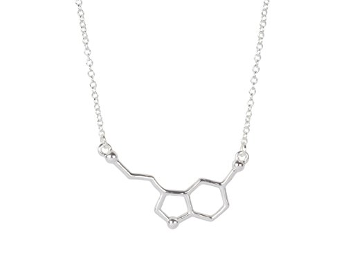 Happiness-Molecule-Serotonin-Molecule-Necklace-for-Pursuit-of-Happiness-and-Wish-for-Well-being-Unique-Nerdy-Science-DNA-Chemical-Pendant-Necklaces