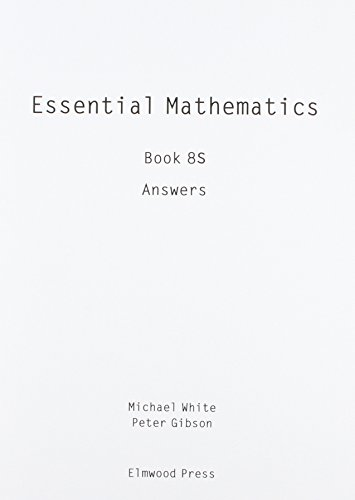 Essential Maths: Answers v. 8S