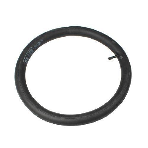 Camera d'aria bicicletta gomma nera valvola Schrader 16 x1.50/1.75