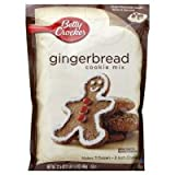 Betty Crocker Gingerbread Cookie Mix ~ (6 Bags)