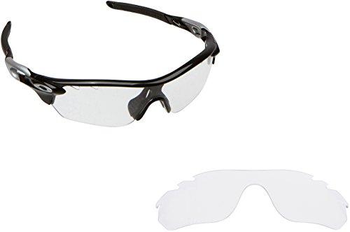 New SEEK OPTICS Replacement Lenses Oakley VENTED RADARLOCK EDGE - Clear (Radarlock Edge compare prices)
