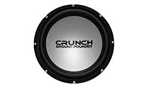 Crunch Ground Pounder GPV12D4 12-Inch DVC 4-Ohm Subwoofer (Black\Silver)
