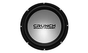 Crunch Ground Pounder GPV12D4 12-Inch DVC 4-Ohm Subwoofer (Black\Silver)
