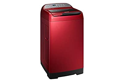 Samsung WA75H4000HP/TL Fully Automatic Top-Loading Free-Standing Washing Machine (7.5 Kg, Scarlet Red)