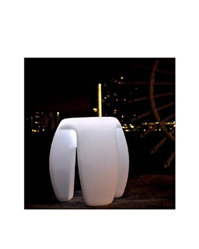 Artkalia Tripoddia Wireless LED Stool, White Opaque