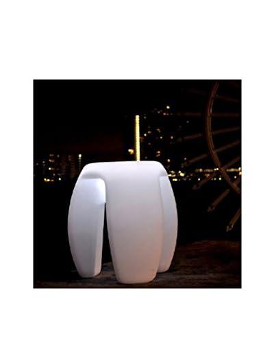 Artkalia Tripoddia Wireless LED Stool, White Opaque