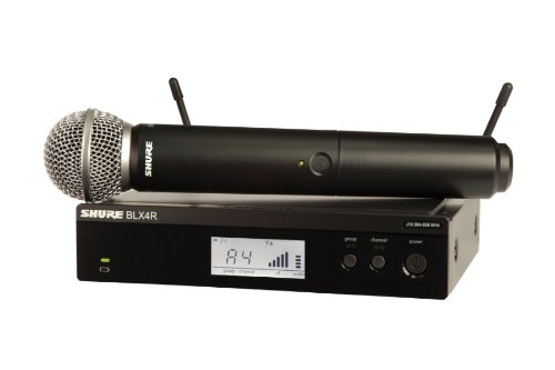 Shure Blx24R/Sm58 Wireless System With Sm58 Microphone Includes Rack Kit