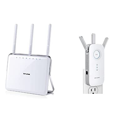 Archer C9 AC1900 Dual Band Wireless AC Gigabit Router and AC1750 Wi-Fi Range Extender