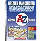 Greater Manchester Street Atlas (A-Z Street Maps & Atlases)by Geographers A-Z Map...