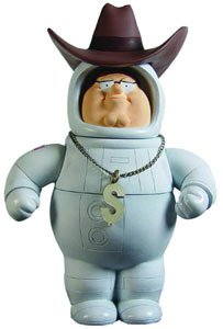 Picture of Mezco Family Guy Classics Figure Series 2 Secret Agent Astronaut Millionaire Peter (B005EN2M0Y) (Mezco Action Figures)