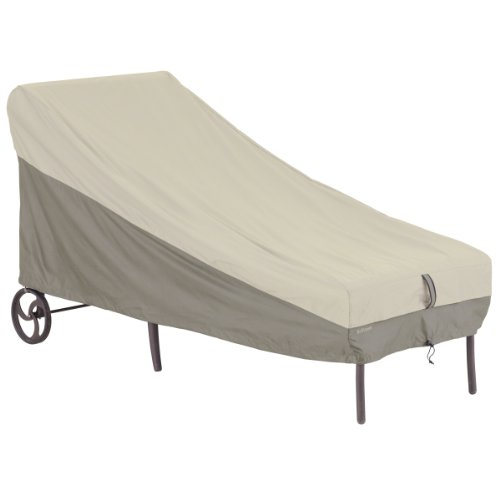Classic Accessories 55-266-011001-00 Belltown Patio Chaise Cover, Grey