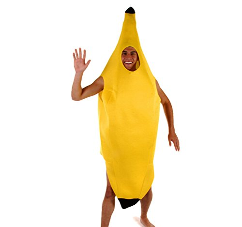 Men's Costumes Halloween Party Banana Performance Service