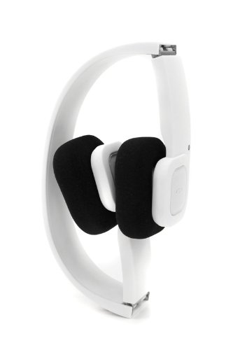 Bbp Mobiband Folding Bluetooth Stereo Headphones With Mic, Compare To Jaybird Sportsband, Compatible With Iphone, Ipad, Ipad2, Ipad3, Ipod Touch, And Android Smartphones - Matte White