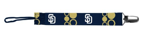 Baby Fanatic Pacifier Clip, San Diego Padres