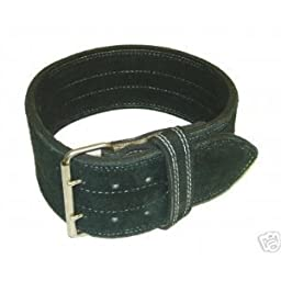 Leather Power Weight Lifting Belt (X Large)