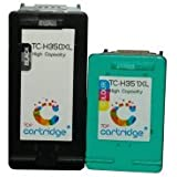 TOP cartridge Remanufactured Ink Cartridges Replacement for HP350 XL and HP351 XL (Black and Colour)