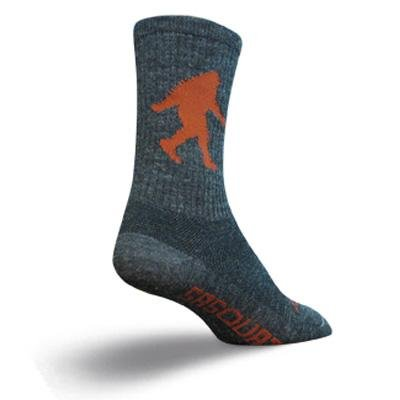 Image of SockGuy Wool Crew 6in Sasquatch Cycling/Running Socks (B002WLV6D0)