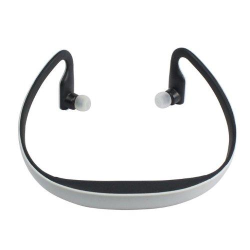 Kgend Bluetooth Headphones Headset Handsfree Wireless Stereo With Mic For Running Iphone 4,Iphone 5,Ipad 4,Ipad Mini,Ipod,Macbook (White)