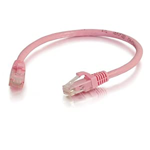 - Pack of 2 Cmple Cat5e 350 MHz Snagless Patch Cable Purple 10 Feet
