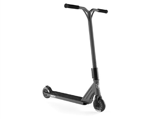 Lucky Clover Integrated 2014 Pro Scooter Complete Gun Metal Grey/Black Brand New Professionally Assembled